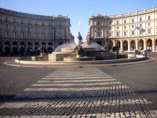 Piazza della Republicca Rome