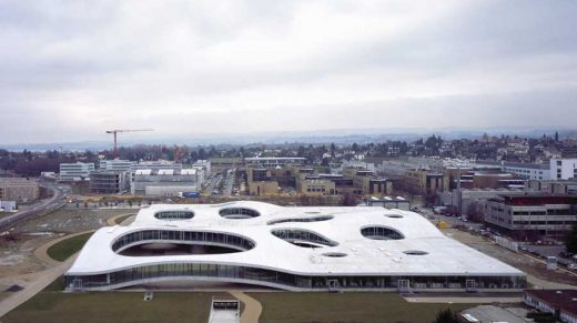 Rolex Learning Center Building, Lausanne, Switzerland