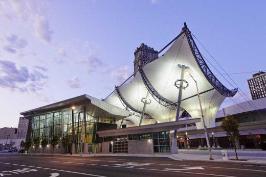 Rosa Parks Transit Center Detroit | www.e-architect.com