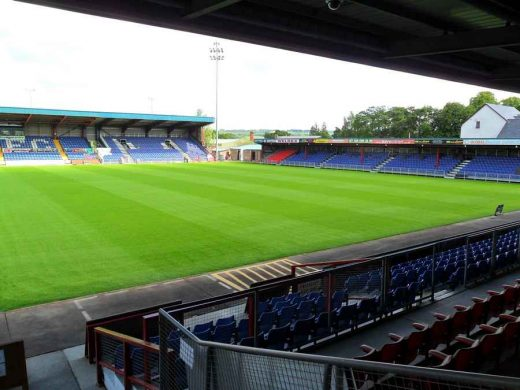 Ross County Football Club - Victoria Park Stadium Dingwall