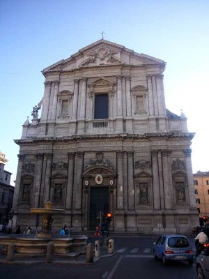 Sant Andrea di Valle Rome - St Andrews Church