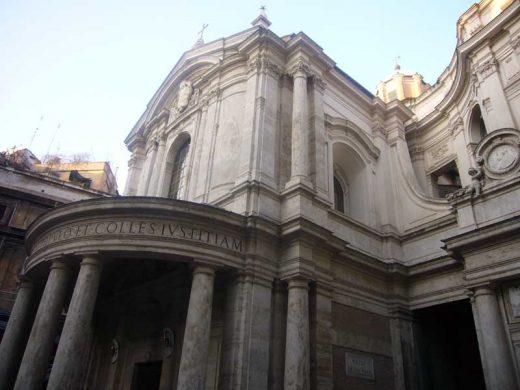Santa Maria della Pace Rome - Pietro da Cortona Building