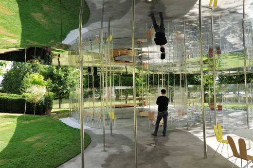 Serpentine Gallery Pavilion 2009 design by SANAA Architects