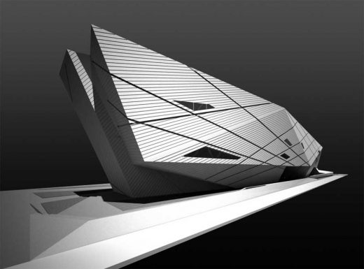 Seville University Library Building by Zaha Hadid Architects