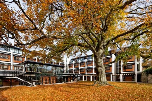 St John's College Oxford building by MJP Architects