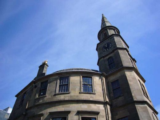 Stirling Athenaeum Steeple Building