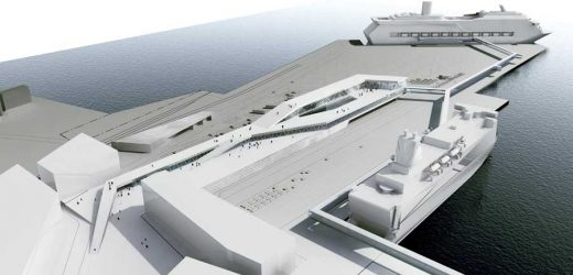 Stockholm Ferry Terminal, Sweden - C. F. Møller Architects
