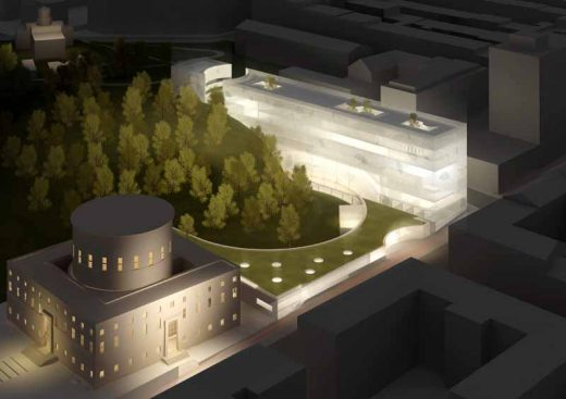 Stockholm Library Building, Design Competition winner