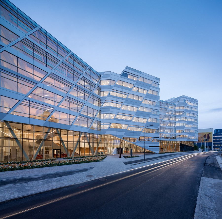 Swedbank international headquarters sweden e architect for Stockholm architecture tour