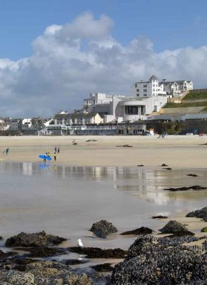 Tate St Ives building Cornwall