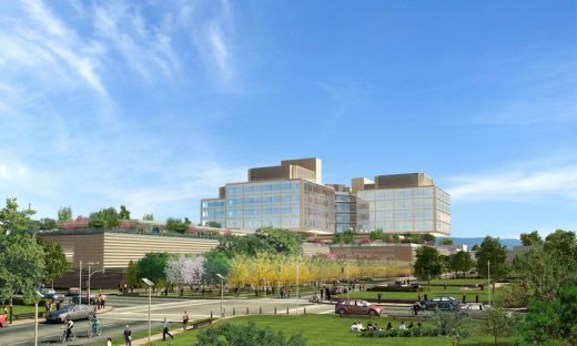 The New Stanford Hospital California building design