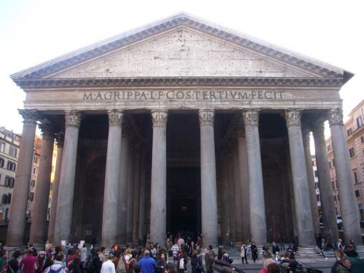The Pantheon Rome architecture