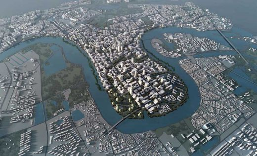Tianjin Development, Chinese Masterplan design