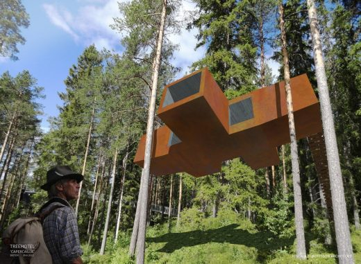 Tree Hotel - Swedish Architecture