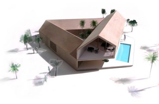 Triangular House Ecuador property design