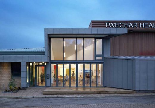 Twechar Healthy Living & Enterprise Centre building
