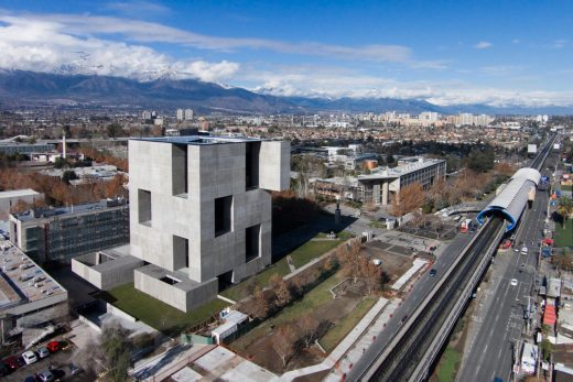 UC Innovation Centre in Chile building