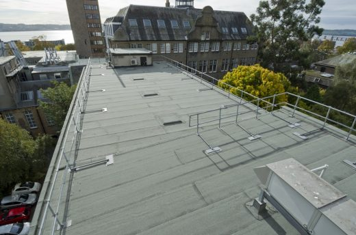 University of Dundee Building Roof Tayside Scotland