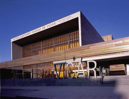 Vicar Theatre, Almeria Building