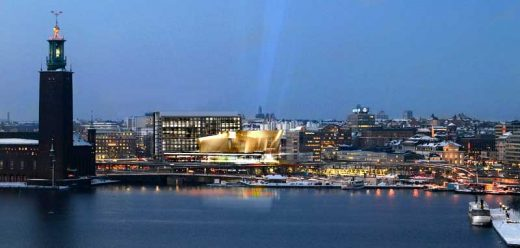 Stockholm Waterfront building by White Architects, Sweden