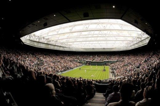 Wimbledon Retractable Roof