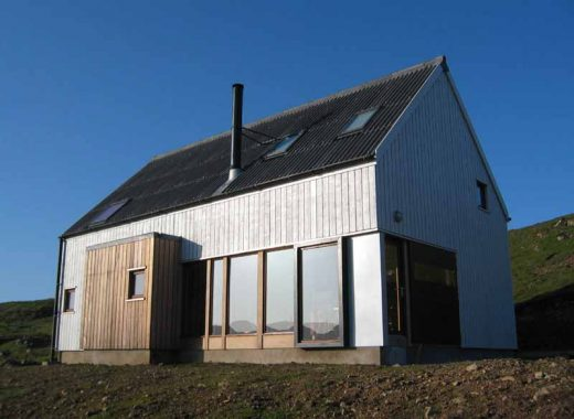 The Wooden House Skye home