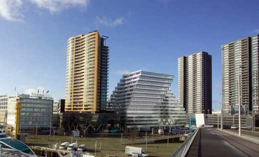Zalmhaven Rotterdam building by KCAP