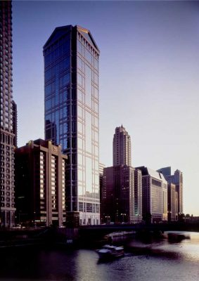 77 West Wacker Drive, Chicago Building by Ricardo Bofill