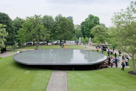 Serpentine Gallery Pavilion 2012 London by Herzog and de Meuron with Ai Weiwei