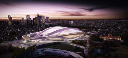 Architecture Scale - New National Stadium Tokyo