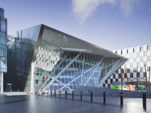 Grand Canal Square Theatre Dublin design by The Arts Team RHWL