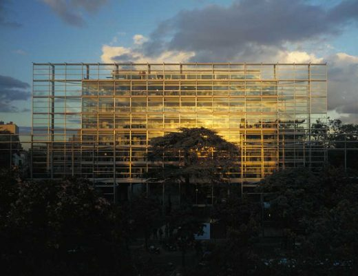 Cartier Foundation Paris Building