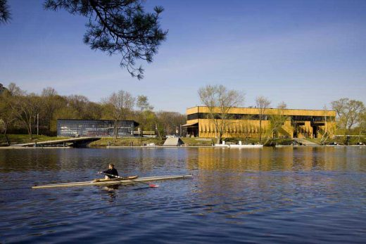 Community Rowing Boathouse Boston building
