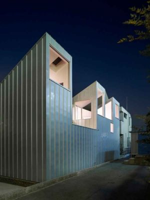 Complex house, Residence in Nagoya
