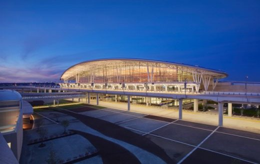 Indianapolis Airport Terminal building