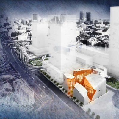 House of Arts and Culture Beirut entry design by Kaputt!