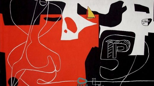 Le Corbusier tapestry Sydney Opera House