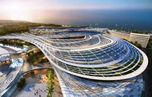 Oasis Mall in Sanya building design
