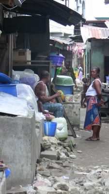 Slum Housing in Port Harcourt Nigeria