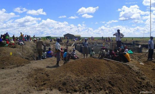 WATERBANK School: Kenya education building site in Africa