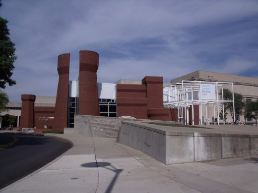 Wexner Center for the Arts Ohio building
