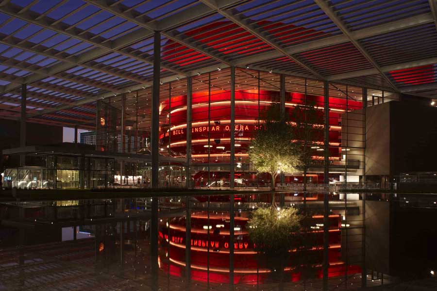 Winspear Opera House Ny E Architect