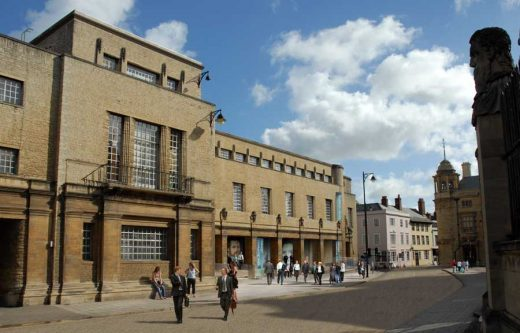 New Bodleian Library Oxford University Building