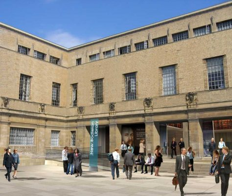 New Bodleian Library Oxford University Building design