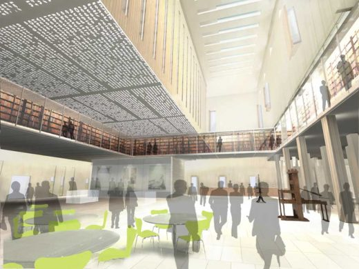 New Bodleian Library Oxford University Building interior