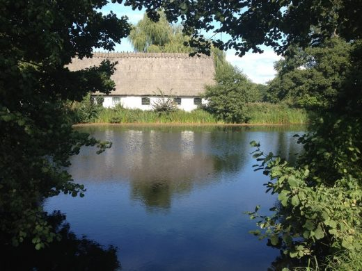 Esrum Kloster pond