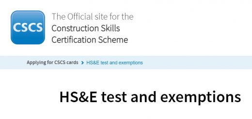 Simple Tips on How to Pass a CSCS Test, Exams