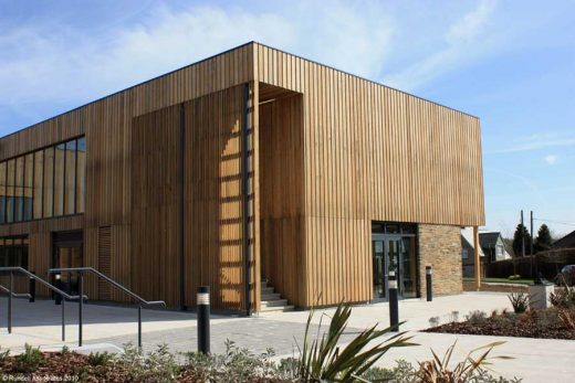 West Buckland School Barnstaple building, England