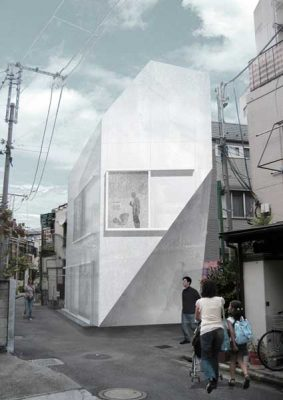 A House Tokyo - Wiel Arets Japan