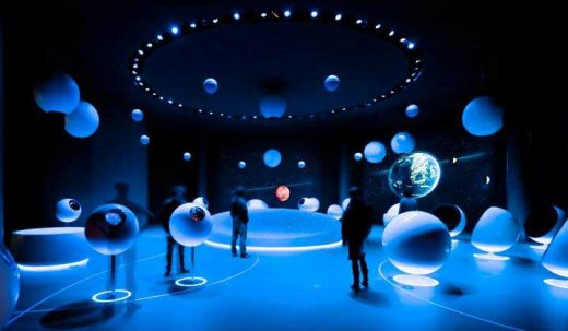 Globe of Science and Innovation at CERN, Switzerland